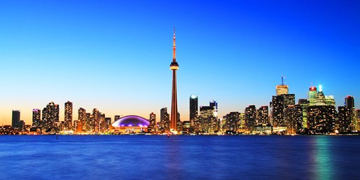 $96* & up -- Nationwide Flights to Toronto, One Way