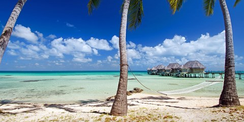 $2398 -- Tahitian Islands Overwater Bungalow Escape w/Air