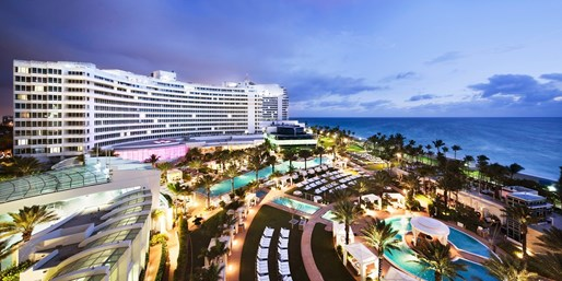 $249 -- Miami's Famed Fontainebleau incl. Breakfast & Valet