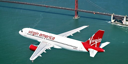 $75* & up -- Virgin America Flights from SF into Spring, O/W