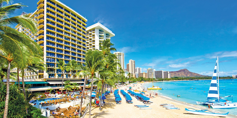Outrigger Waikiki Beach Resort -- Honolulu, HI
