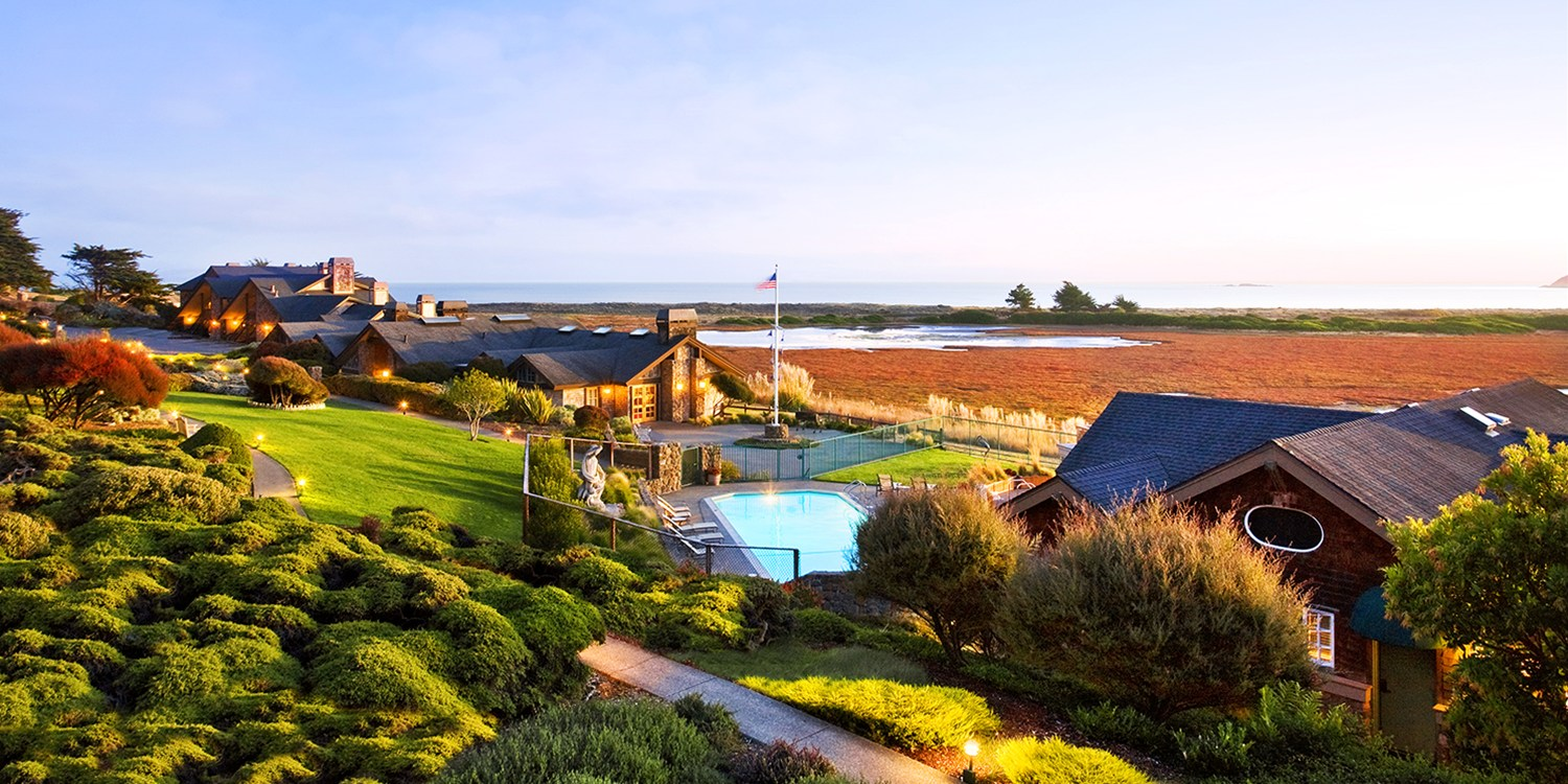 $189 -- Oceanview Room at 4-Star Bodega Bay Lodge, Reg. $365
