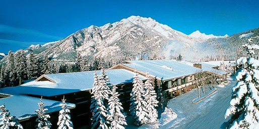 $121 -- 2-Night Banff Lodge Retreat through Ski Season