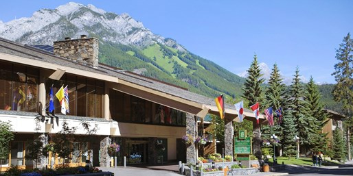 $95-$125 -- Banff Hotel Stays incl. Cocktails for 2, 25% Off