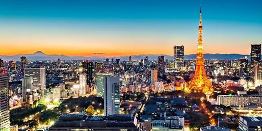 $909 & up -- 6-Nt. Tokyo & Beijing  Package w/Air & Hotels