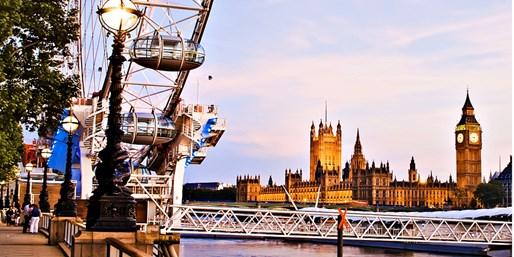 $1675 -- Summer in London: 6-Night Trip w/Breakfast