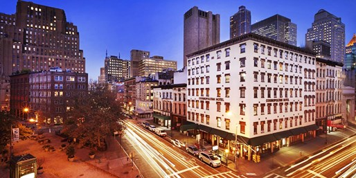 $157 -- NYC: Historic Hotel in Trendy Tribeca, Save 45%