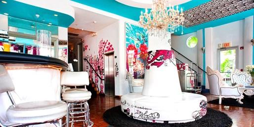 $56 -- Miami Beach: Hip Boutique Hotel, 50% Off