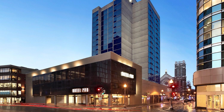 Hotel PUR Quebec -- Quebec City, Canada