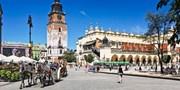 £139pp -- Krakow Break w/Auschwitz Tour; Fly from the North