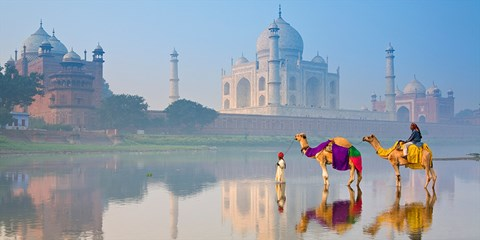 £1475pp -- India: 13-Nt Deluxe Tour w/Taj Mahal & Camel Ride