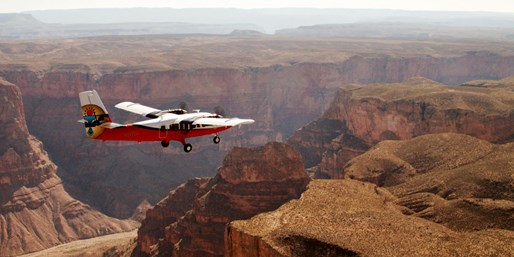 $75 & up -- Vegas: Grand Canyon Air & Bus Tours, Reg. $150