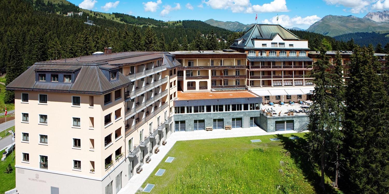 Waldhotel National -- Arosa, Schweiz