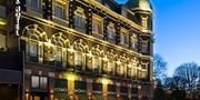 Schickes Amsterdam-Hotel an Gracht mit Frühstück