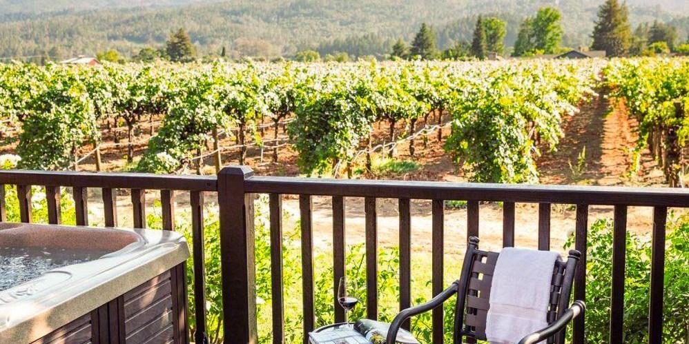 Harvest Inn by Charlie Palmer -- St. Helena, CA