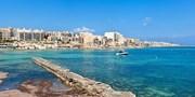 £327pp -- 4-Star Malta Week w/Flights & Meals, Was £409