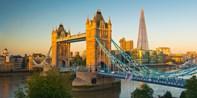 ¥728 -- 5.4折 伦敦泰晤士河游船之旅 含四道式晚餐+葡萄酒 沿途美景+现场音乐