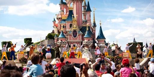 Castillo en Disneyland Paris