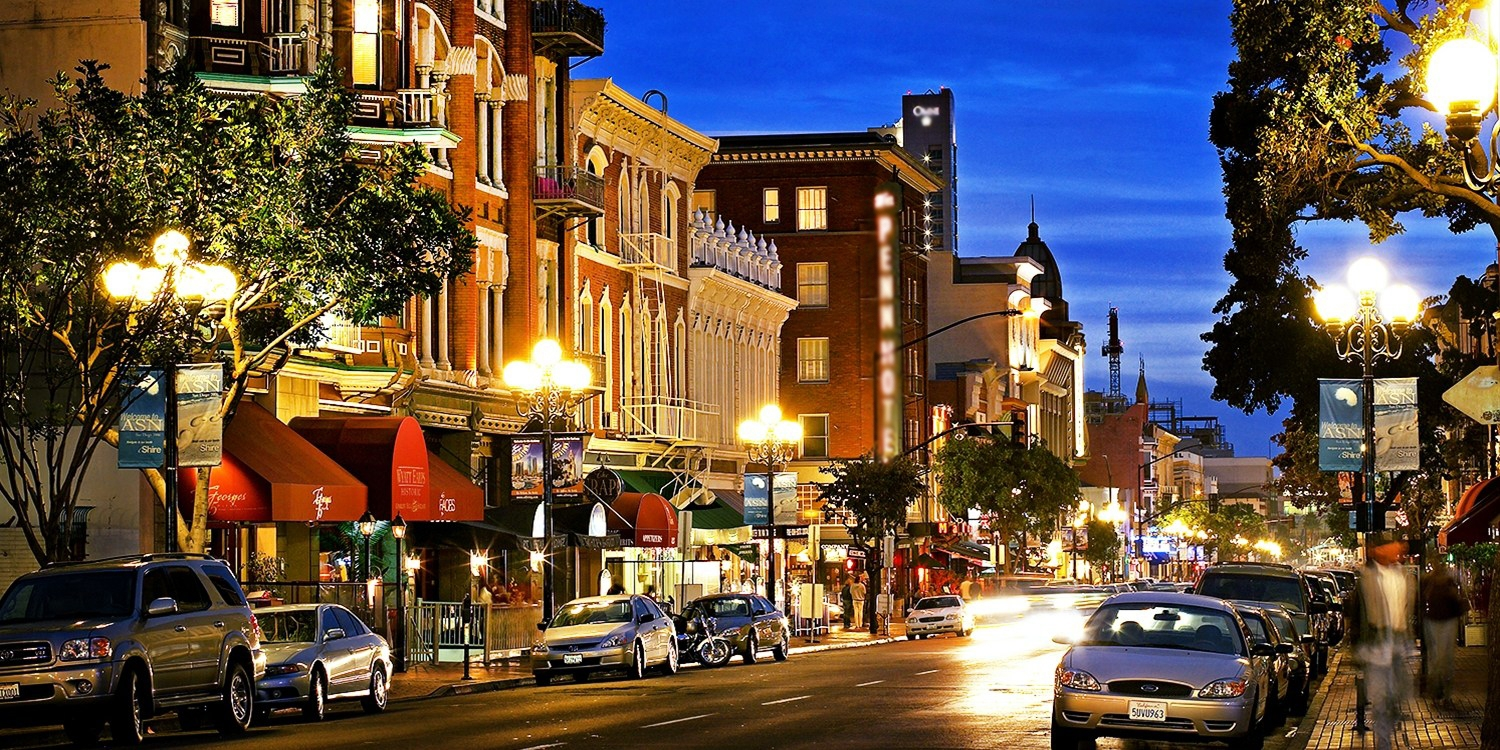 $109 -- San Diego Gaslamp Hotel into March, 60% Off