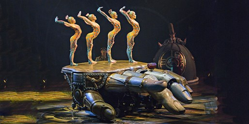 $39 & up -- Cirque du Soleil Presale for 'Kurios' in D.C.