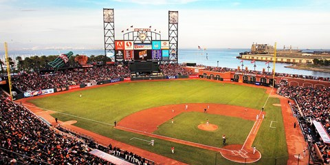 $30 & up -- San Francisco Giants vs. Padres & Red Sox
