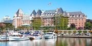 ¥328,000 -- 初夏カナダ3都市6日間 JAL直行ビジネス×名門DXホテル 観光+6食 12万得