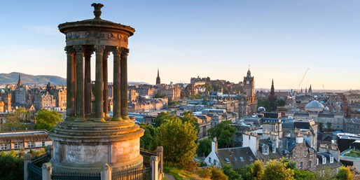 £109 -- Edinburgh City-Centre Stay w/Meals, Save 45%