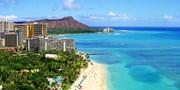 ¥113,879 -- 60'sハワイ美追求 新4つ星マリオット系バルコニー付連泊ハワイ5日間