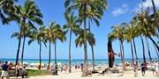 ¥94,426 -- ハワイ5日間ツアー 直行便×ビーチ至近ホテル泊 指定
