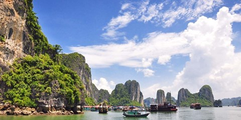 £1399pp -- Vietnam & Cambodia 4-City Escape w/Tours & Cruise