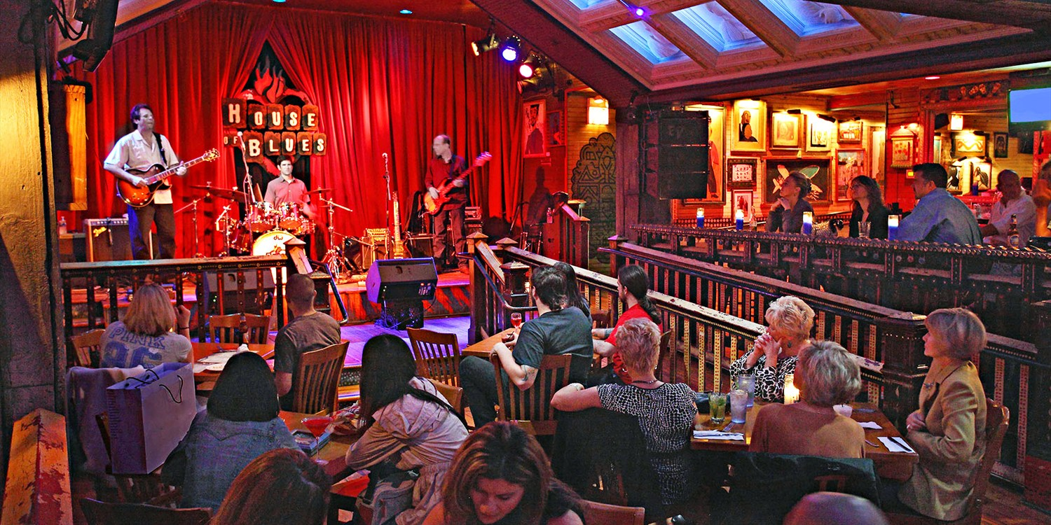 $26 -- House of Blues: Dinner for 2 at Crossroads, Reg. $52