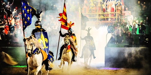 $50 -- Medieval Times Dinner Show: VIP Package, Reg. $82