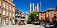 £99 -- Cathedral-View Lincoln Stay inc Meals, Save 47%