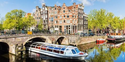 $197 -- 5-Star Amsterdam Stay w/Breakfast, 45% Off