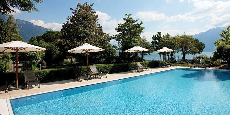 Fairmont Le Montreux Palace -- Kanton Waadt, Schweiz