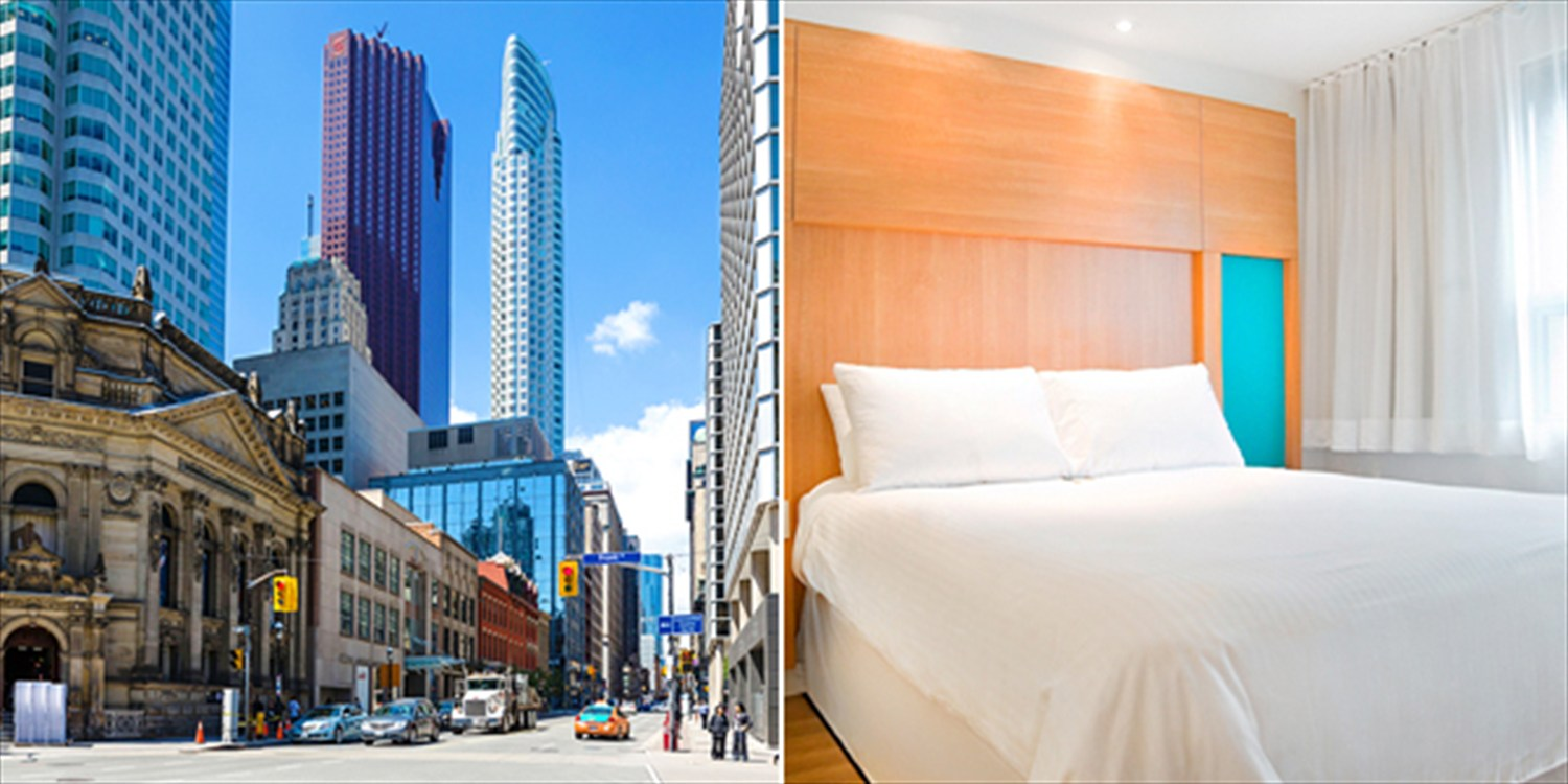 $113 -- Downtown Toronto Hotel near Eaton Centre