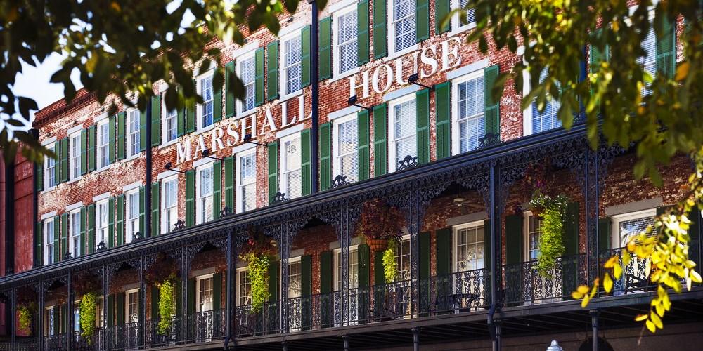 The Marshall House -- Savannah, GA