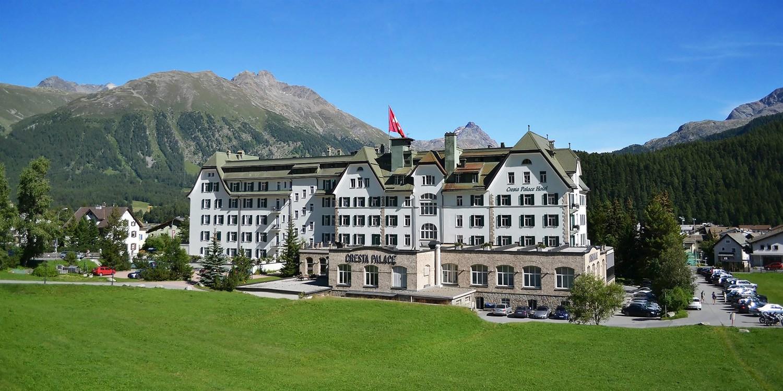 Cresta Palace Hotel -- 切莱里纳, 瑞士
