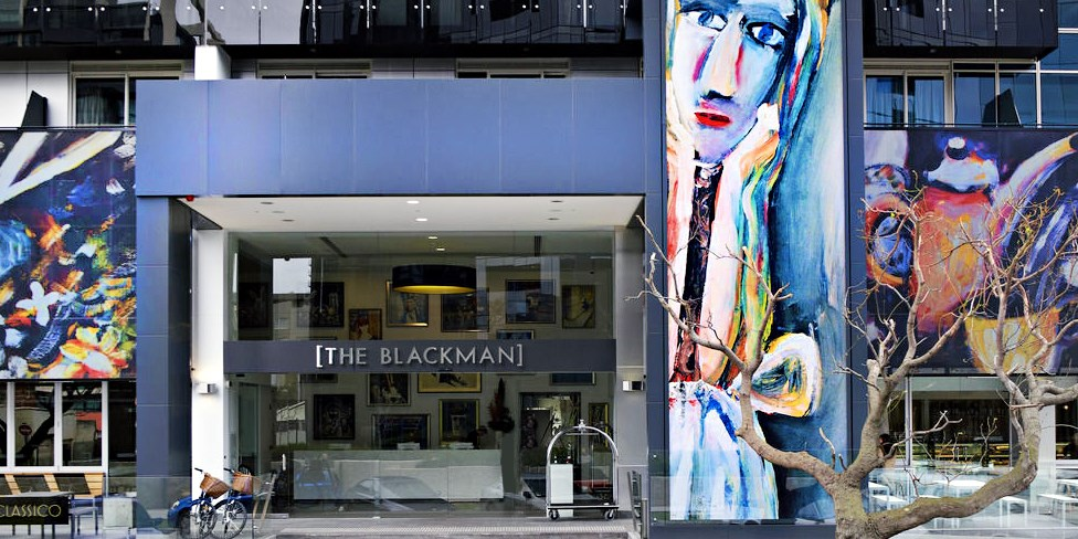 Art Series-The Blackman -- Melbourne, Australia