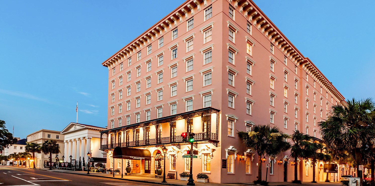 $139 – Historic Charleston Hotel w/Walking Tour, 50% Off -- Charleston, SC