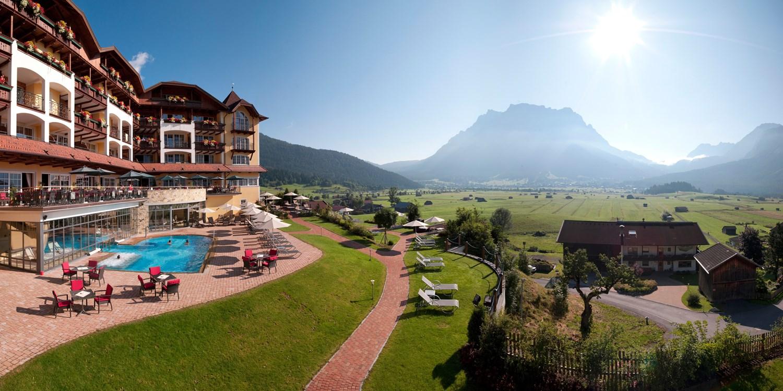Hotel Post Lermoos -- Tirol, Österreich