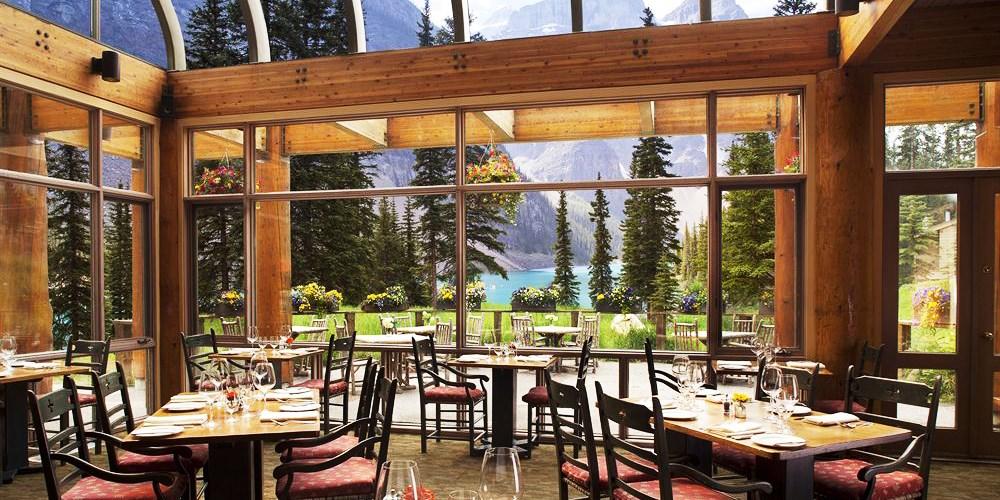 Moraine Lake Lodge -- Lake Louise, Canada