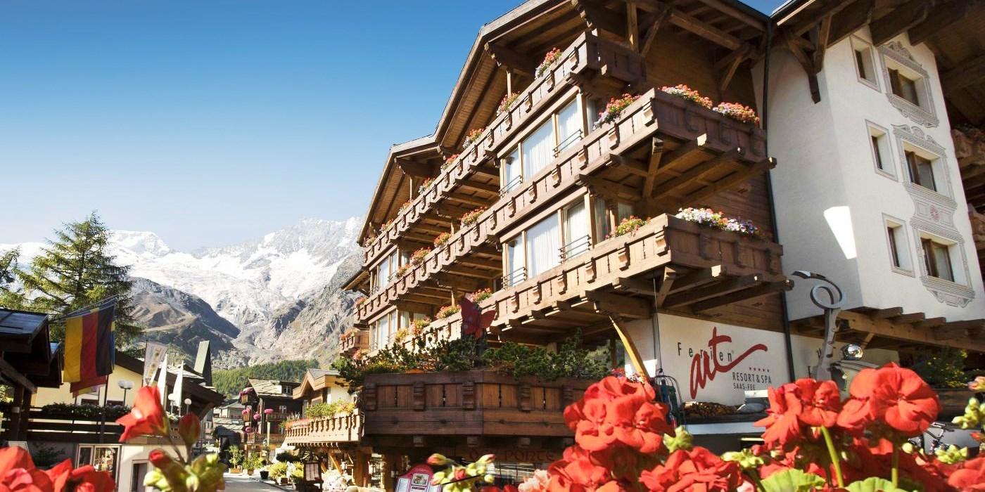 Ferienart Resort & Spa -- Saas Fee, Switzerland