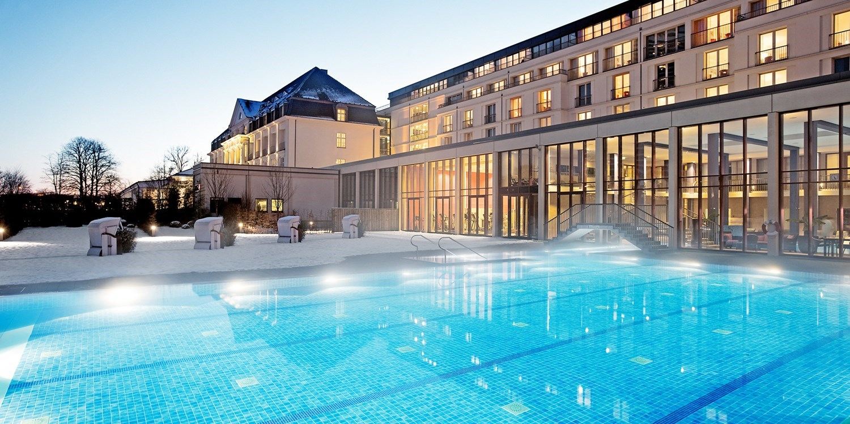 218€ – Wellness im luxuriösen A-ROSA Travemünde & HP, -34% -- Ostsee