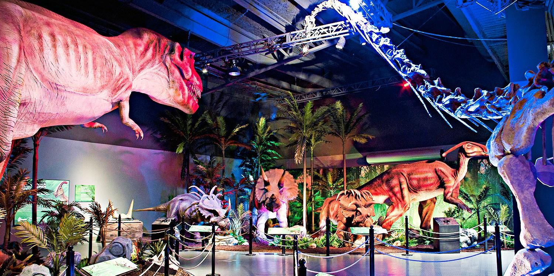 $13 -- Atlanta: 'Extreme Dinosaurs' at Atlantic Station