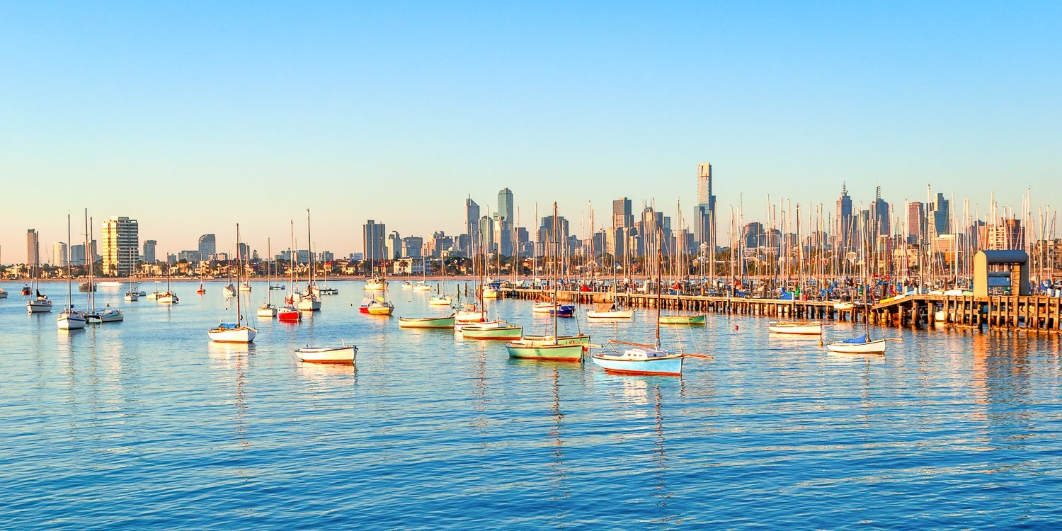 $129 – Melbourne Beach Stay for 2 w/Wine, Save up to 49% -- St Kilda, Melbourne