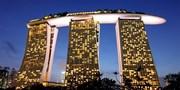 ¥76,800 -- 関空発 マリーナベイサンズ泊シンガポール4日間 延泊可