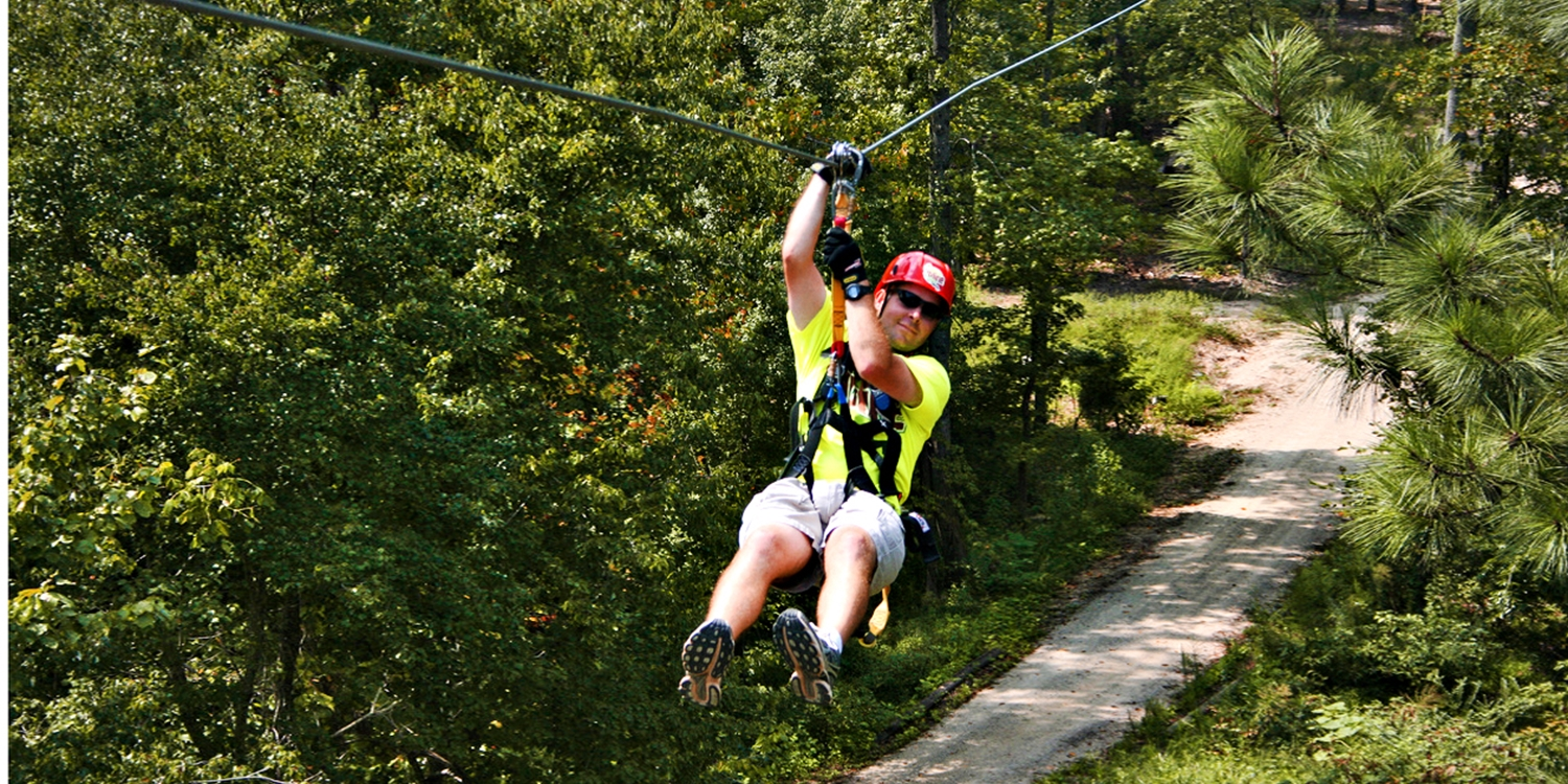 $49 -- Treetop Zip-Line Adventure Tour, Reg. $89