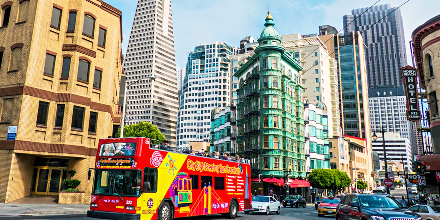 $18 -- Double-Decker Bus Tour of San Francisco, Reg. $33