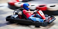 High-Speed Go-Kart Racing for 2 at up to 50 MPH